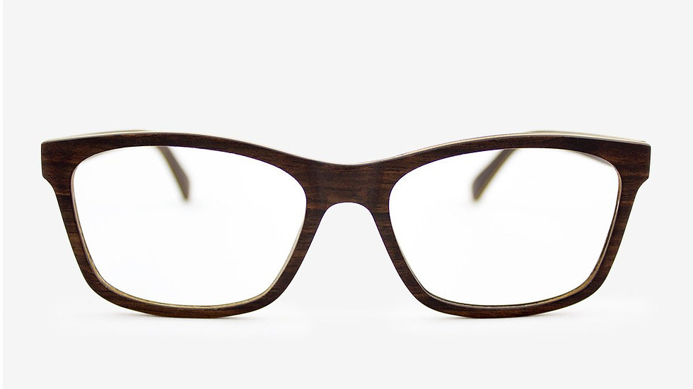 Franklin Handcrafted Adjustable Wood Eyeglasses, ready for your prescription