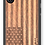 Thumbnail: Wooden Phone Case,   American Flag in Mahogany, Lightweight and Slim