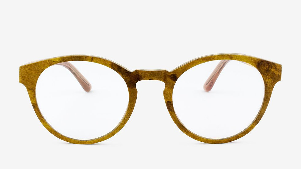 Holmes Handcrafted Adjustable Wood Eyeglasses