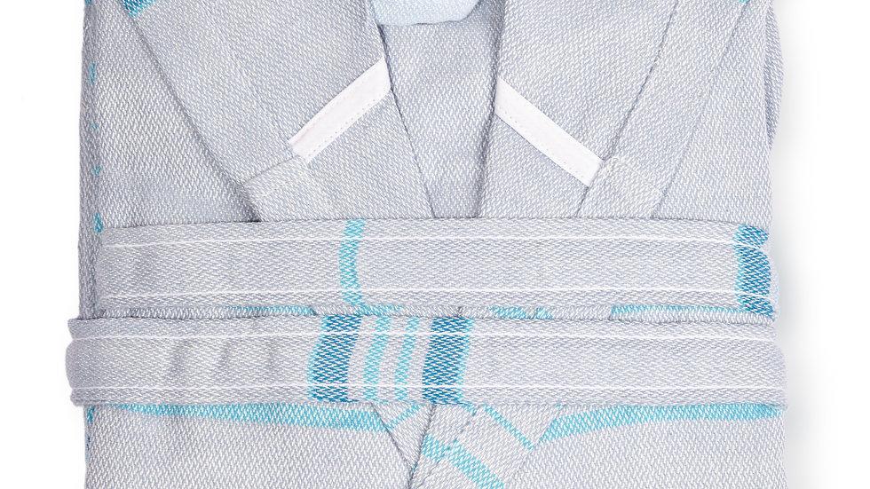 Antalya Unisex  recycled Turkish cotton bathrobe, supersoft, absorbant.