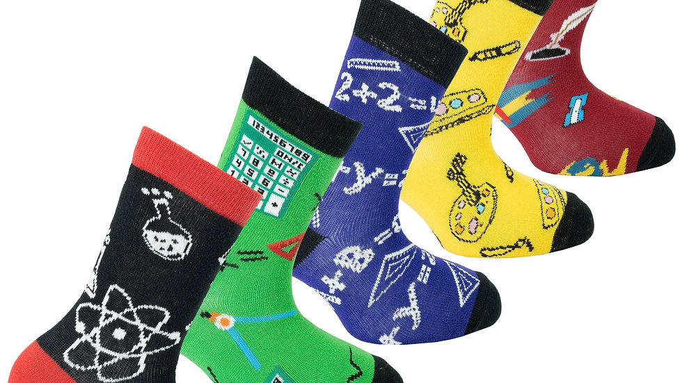 Turkish super-soft cotton, nylon & spandex socks for Children.  sweat-resistant