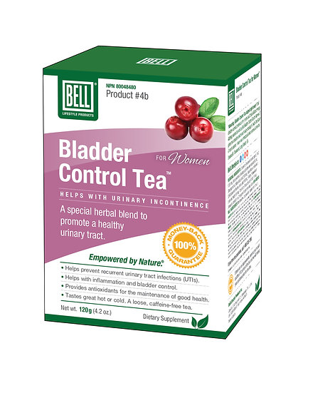 #4b Bladder Control Tea for Women™