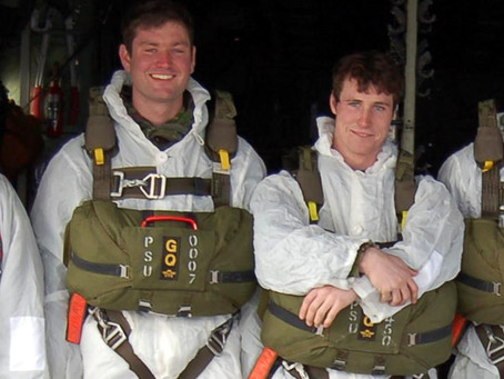 Lance Bombardier Ross Clark and Lance Bombardier Liam McLaughlin, 29 Commando Regiment Royal Artille