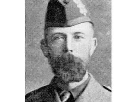 Second Lieutenant Alister McAndrew, 1st Battalion, Black Watch (Royal Highlanders)