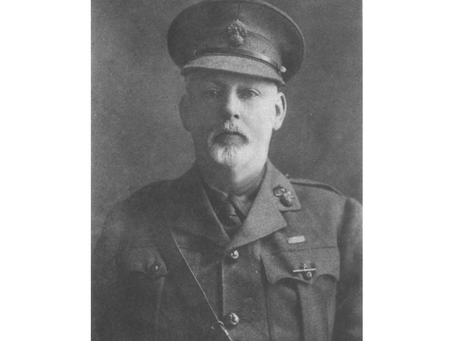 Captain Frederick Courteney Selous, DSO,  25th (Frontiersman) Battalion, the Royal Fusiliers