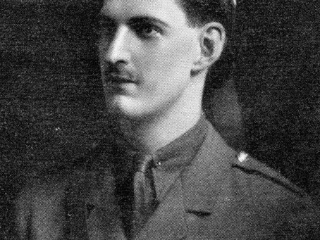 Second Lieutenant Ronald James Stewart, 3rd Battalion (attached to 1st Battalion), Seaforth Highland