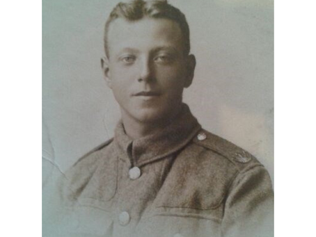 Private Edward Bowen, 4th Battalion, the Royal Welsh Fusiliers