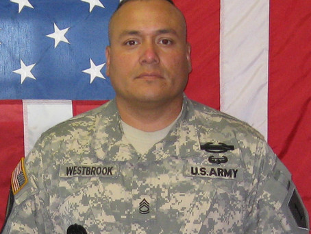 Army Sergeant1st Class Kenneth W. Westbrook, 1st Brigade, 1st Infantry Division