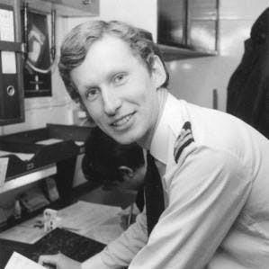 Lieutenant David Hugh Russell Tinker, Royal Navy