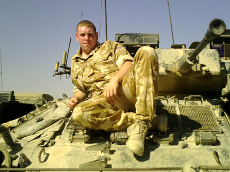 Private Craig Barber, 2nd Battalion, the Royal Welsh Regiment