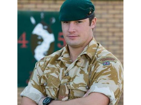 Corporal Liam Elms, 45 Commando Royal Marines
