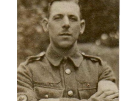 Private Frank Holtham, 1st/1st South Midland Field Ambulance, Royal Army Medical Corps