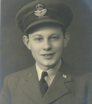 Pilot Officer William Anthony Ward, Royal Air Force Volunteer Force