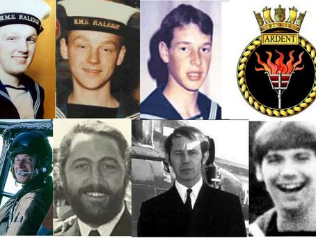 H.M.S. Ardent, the Falklands War