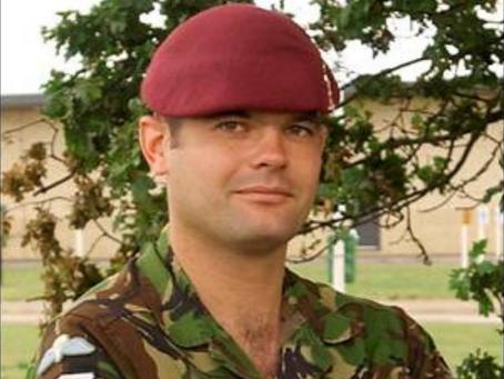 Corporal Steven Thomas Dunn, 216 (Parachute) Signal Squadron, attached to 2nd Battalion, The Parachu