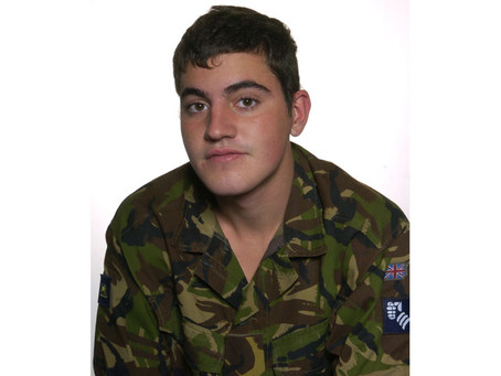 Private Ryan Wrathall, 1st Battalion, the Princess of Wales's Royal Regiment