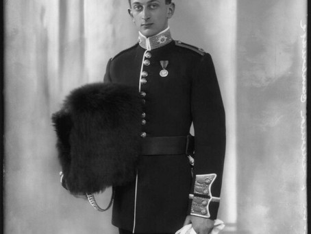 Captain Lord Frederick Charles Edward Cambridge, 1st Battalion, The Coldstream Guards