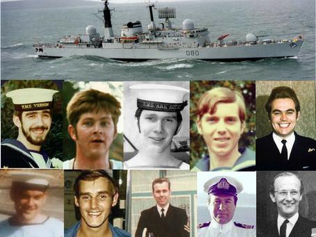 HMS Sheffield, the Falklands War