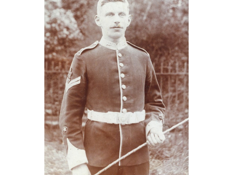 Company Quartermaster Serjeant Walter Wilfred Banks, 6th (Service) Battalion, East Kent Regiment (Th