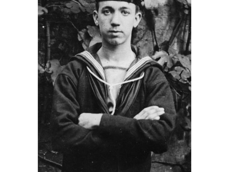 Able Seaman John Player Genower, Royal Navy