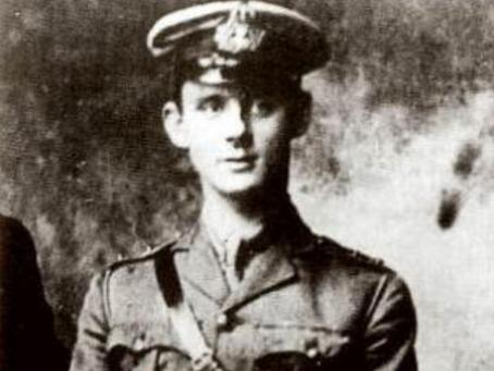 Sub-Lieutenant Edwin Leopold Arthur Dyett, Nelson Battalion, 63rd (Royal Naval ) Division