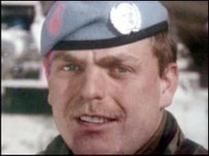 "Lance Corporal Wayne John ""Eddie"" Edwards, The Royal Welch Fusiliers"