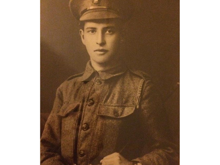 Private Tom Arthur James, 15th (County of London) Battalion, the London Regiment (Prince of Wales&#3
