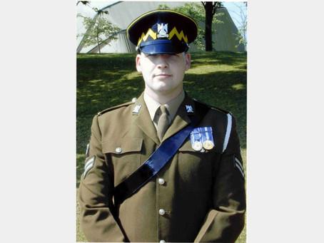 Corporal Gordon Pritchard, the Royal Scots Dragoon Guards