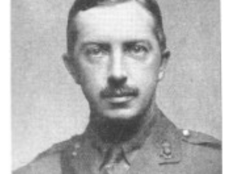 Major Douglas Reynolds V.C., 37th Battery, the Royal Field Artillery