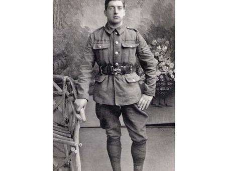 Sergeant Edwin Betony, 14th Battalion, the York and Lancaster Regiment