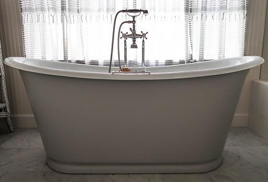 Waterworks Bathtub and Newport Brass Plumbig Fixture