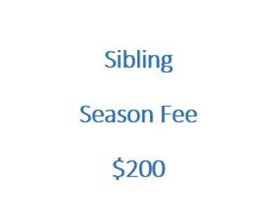 Sibling Season Fee