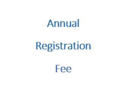 Annual Registration Fee