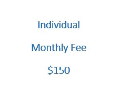 Individual Monthly Fee