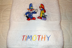 Personalize Towels