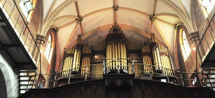 Emmanuel Cathedral Pipe organ