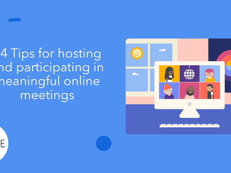 14 Tips for Hosting & Participating in Online Meetings