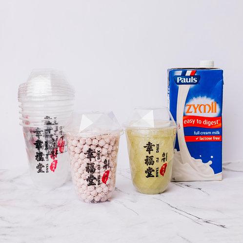 Matcha Boba Milk DIY KIT - Full Cream