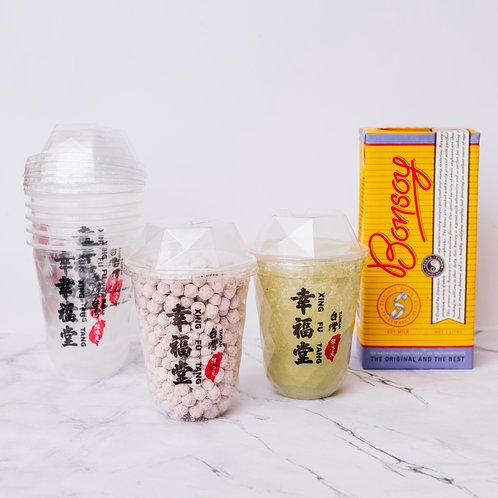 Matcha Boba Milk DIY KIT - Soy Milk
