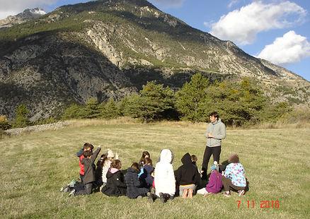 projet scolaire conte théâtre hautes alpes classe de découverte