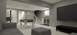 Edmonton, home, design, renovation, drafting, custom, house, plan, 3D Rendering,6