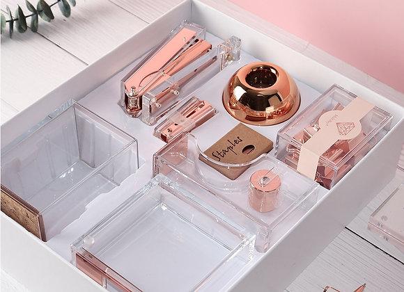 Rose Gold Desk Set