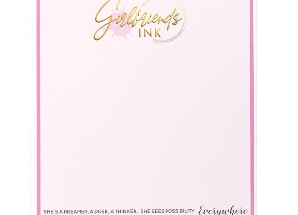 Signature GF Ink Notepad