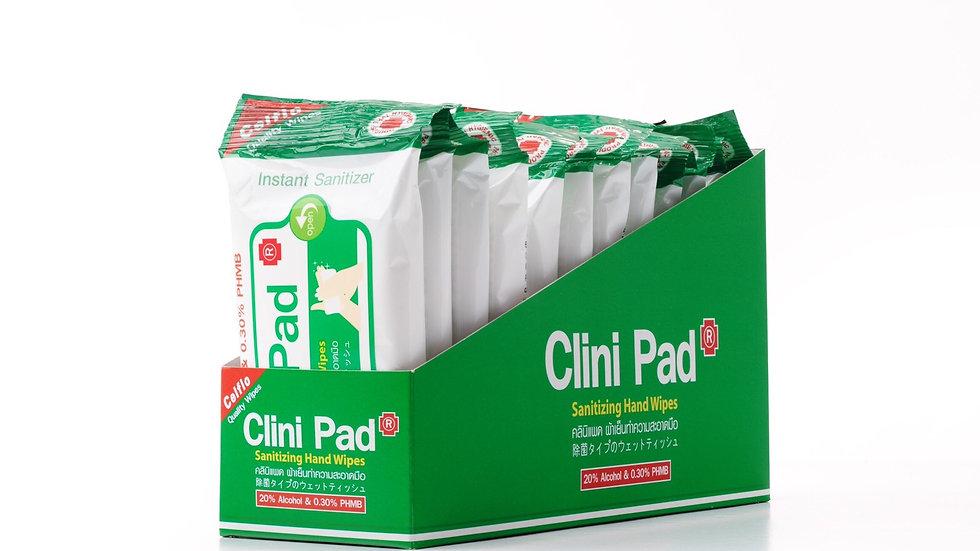 Clini Pad 12 ซองๆละ 10 แผ่น (Ex VAT)