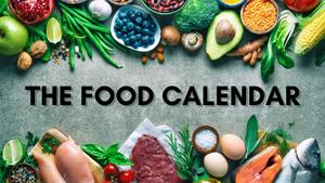 The Food Calendar 2020
