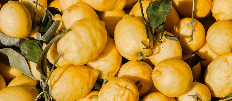 Why we love lemons...