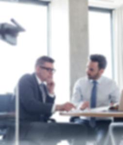 En reunión