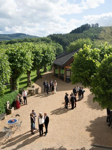 Cocktail Rhone chateau de Verbust