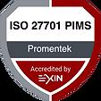 ISO/IEC 27701 PIMS #promentek #exin #iso27701 #pims
