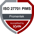 ISO/IEC 27701 PIMS #promentek #exin #iso27701 #pims
